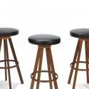 Hans Olsen bar stools set of 3