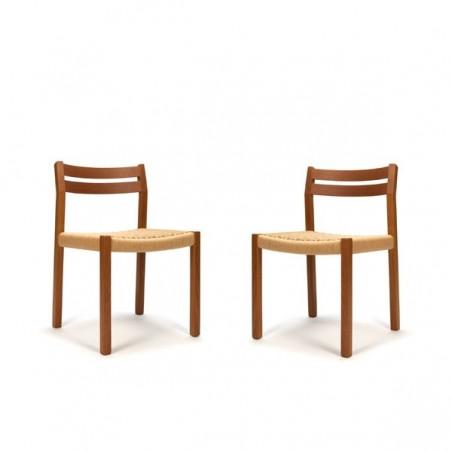 Set van 2 Moller stoelen model 401