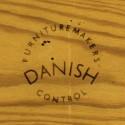 Grote Deense design eettafel achthoekig