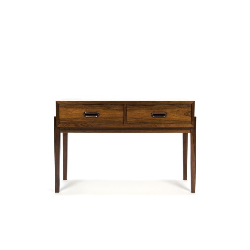 Small chest of drawers in rosewood