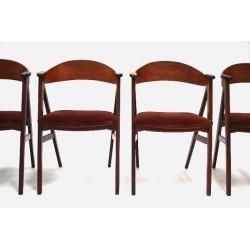 Kai Kristiansen chairs set of 4