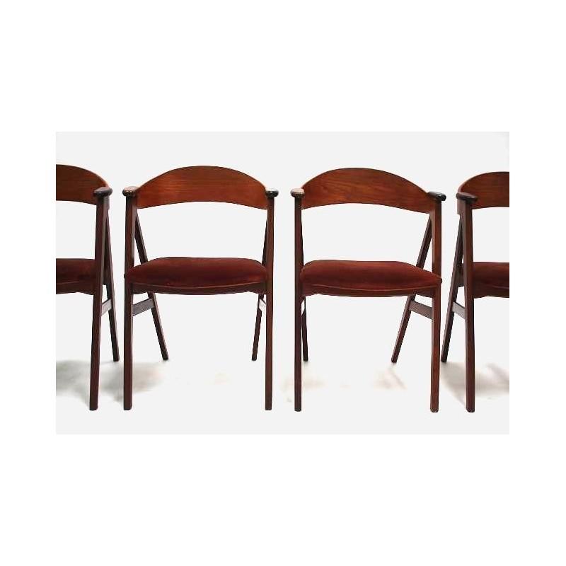 Kai Kristiansen stoelen set van 4
