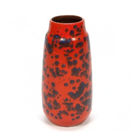Orange West-Germany vase