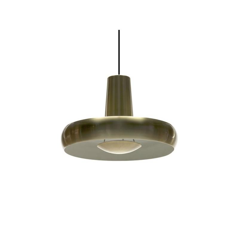 Messing hanglamp met diffuser