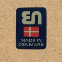 Danish design dining table in teak