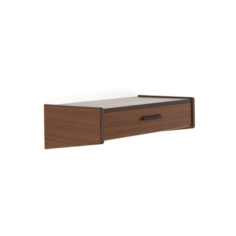 Small shelf/ cabinet with drawer in teak