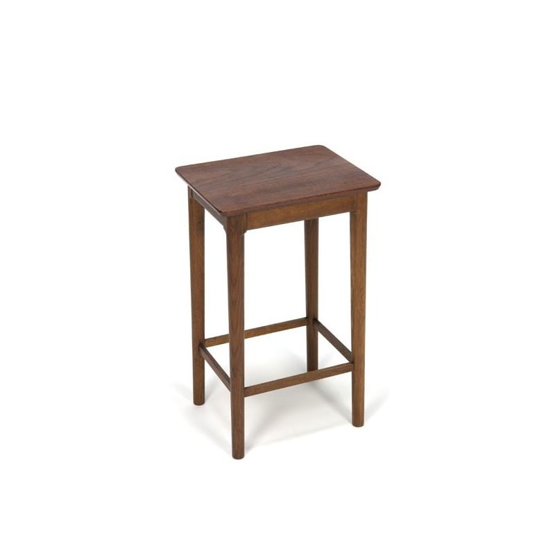 Small teak side-/plants table