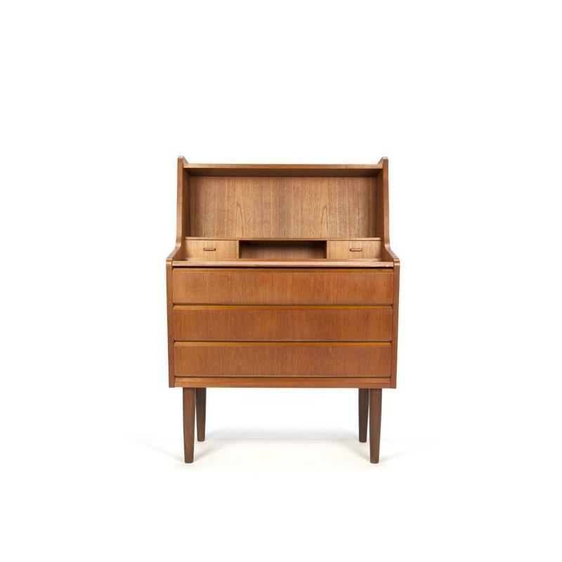 Danish teak secretary/ dressing table