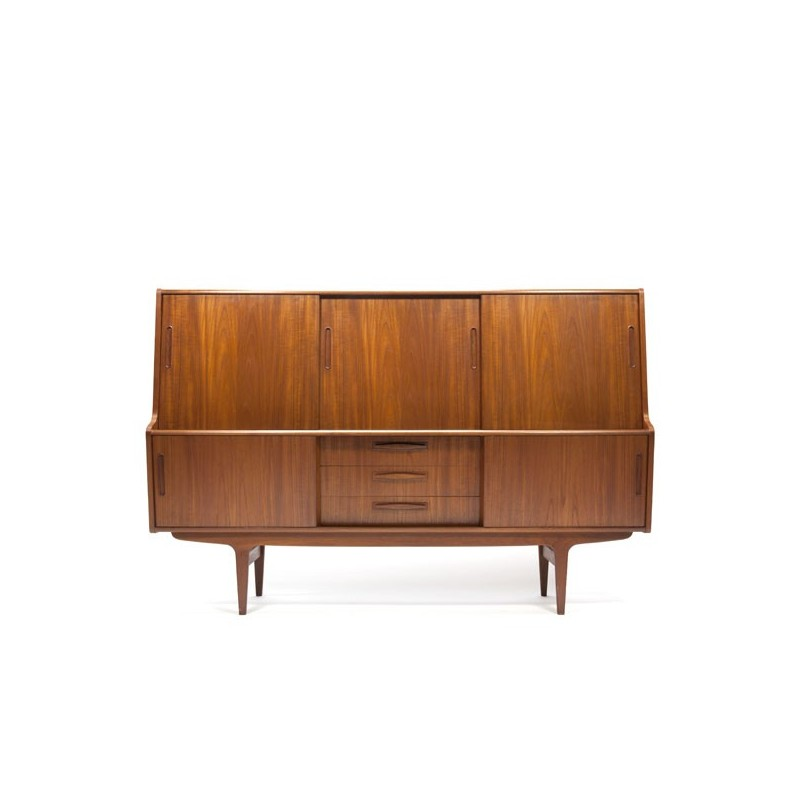 Large Danish sideboard in teak