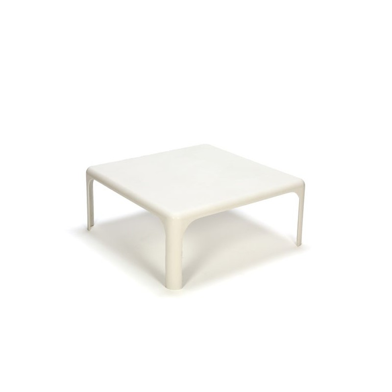 Italian plastic design coffee table by Vico Magistretti