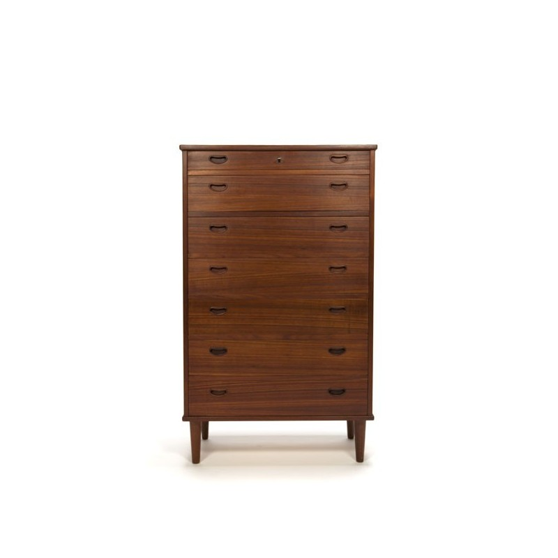 Danish dresser with 7 drawers