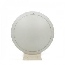 Grote glazen tafel/ vloerlamp merk Putzler