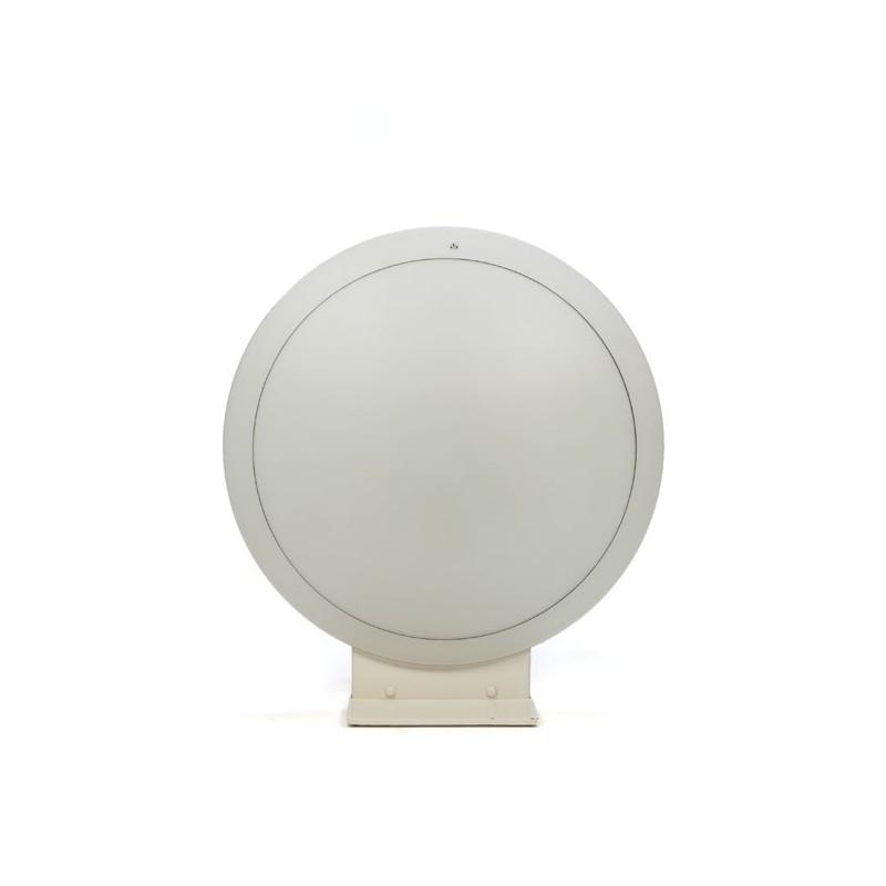 Large glass table/ floor lamp brand Putzler