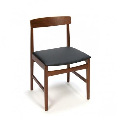 Deense teakhouten stoel