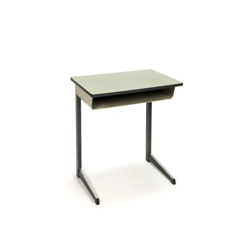 Industrial children's desk with green top