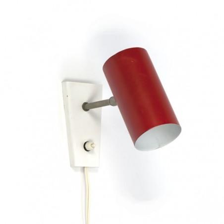 Hala Zeist red tube wall lamp