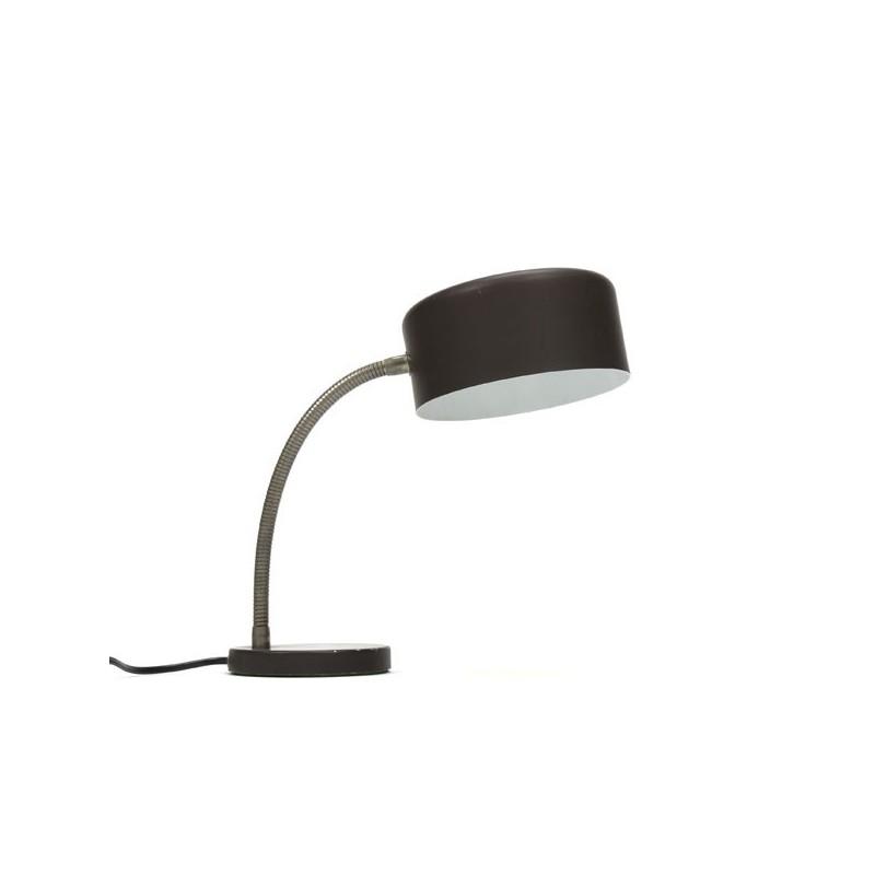 Bruine tafellamp 1960's