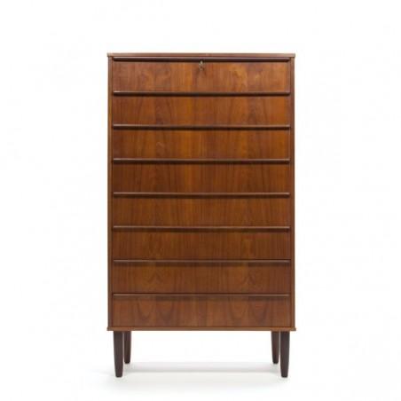 Danish dresser with 8 drawers