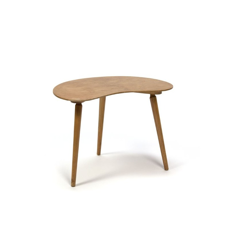 Small side table in beech