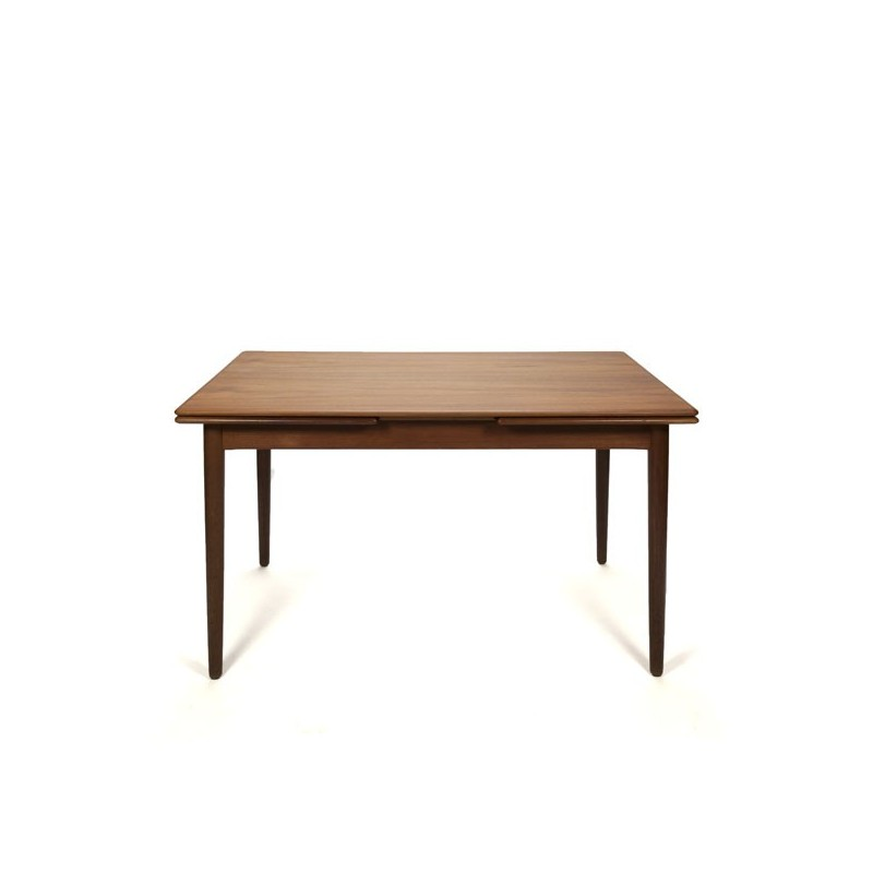 Danish design dining table in teak