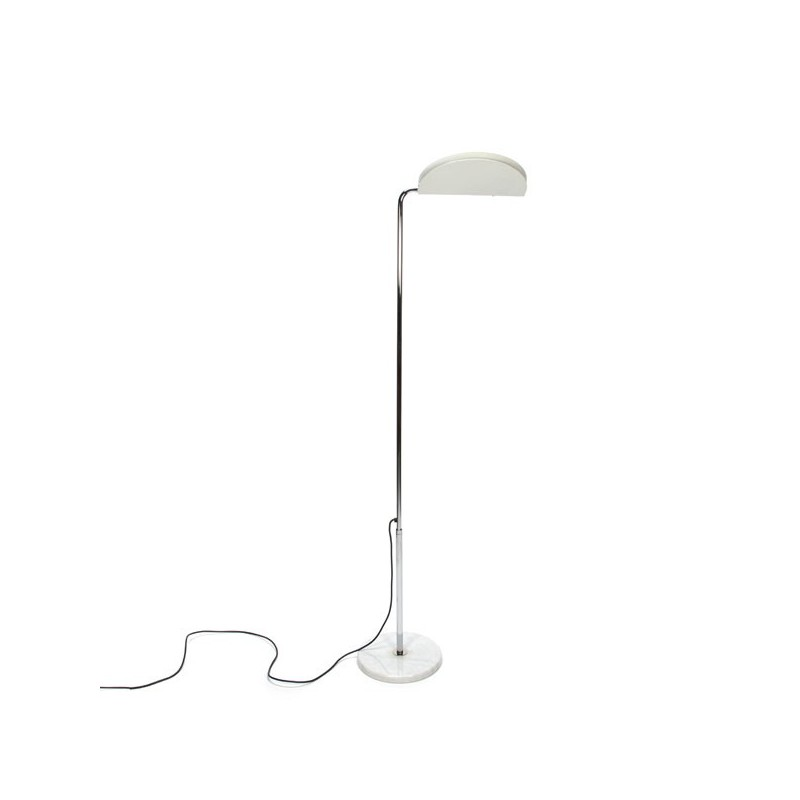 Design floor lamp by Bruno Gecchelin the Mezzaluna