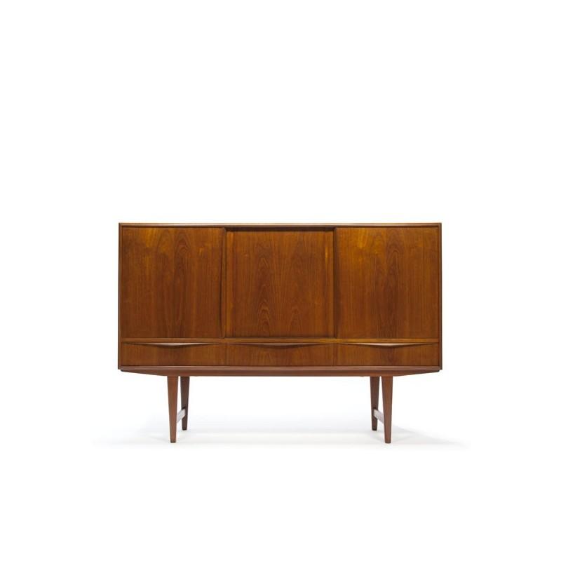 Vintage Deens design dressoir in teak