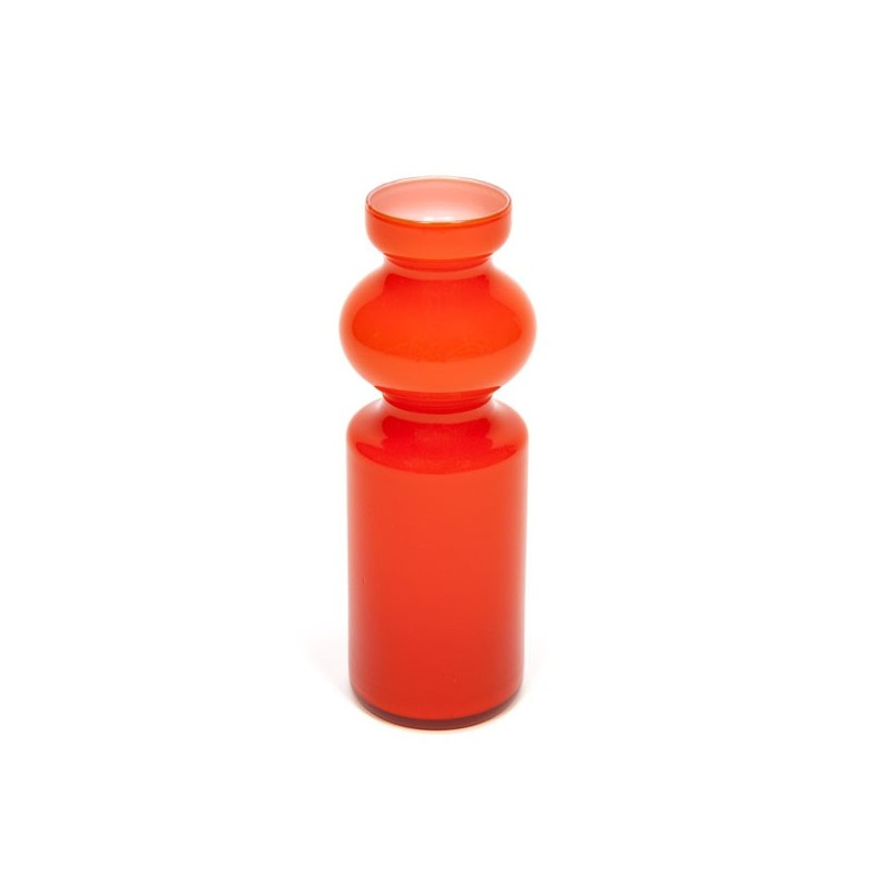 Orange vase from Italy
