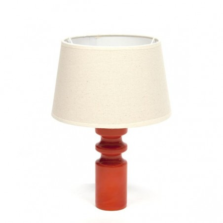 Glass table lamp by the brand Alsterfors