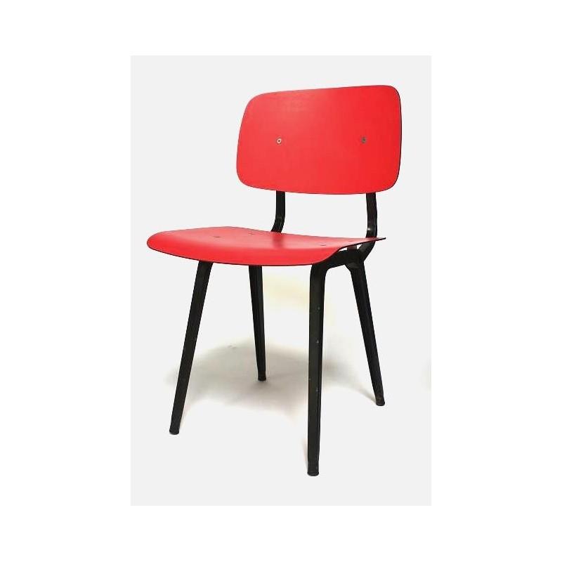Friso Kramer Revolt stoel rood/zwart 2