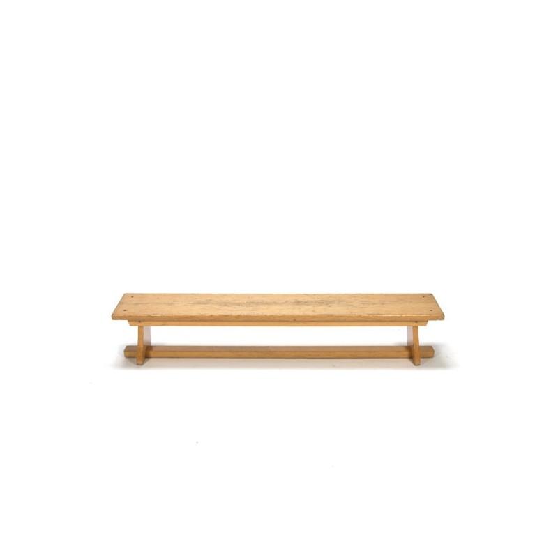 Wooden schoolbench