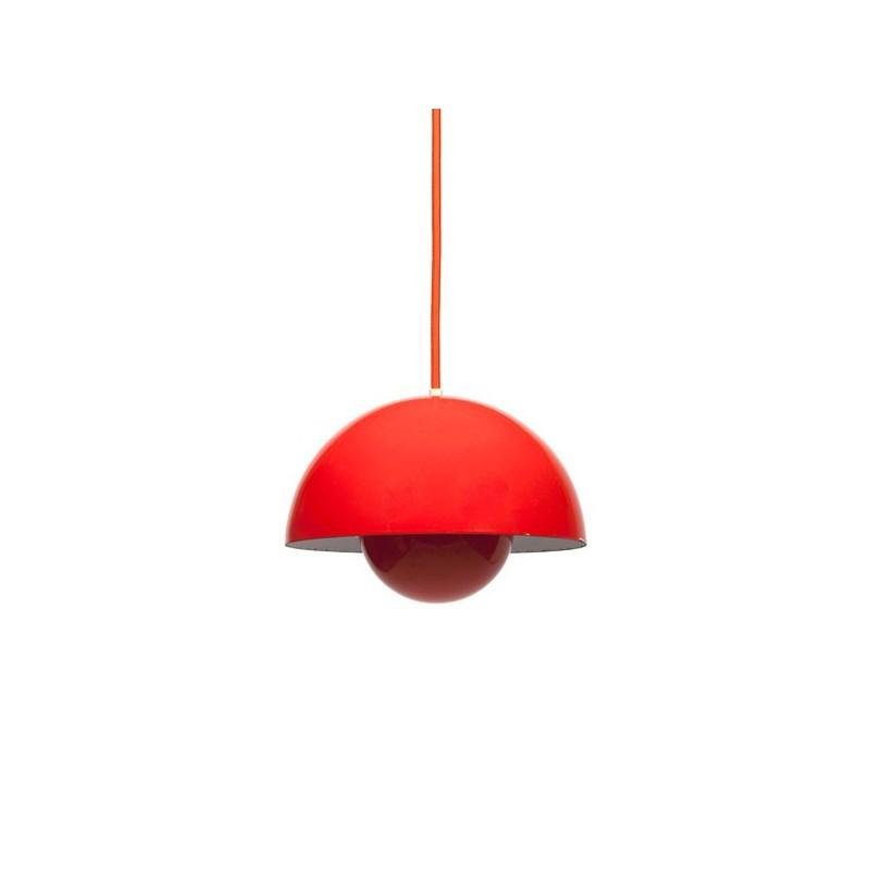 Flower Pot hanging lamp design Verner Panton