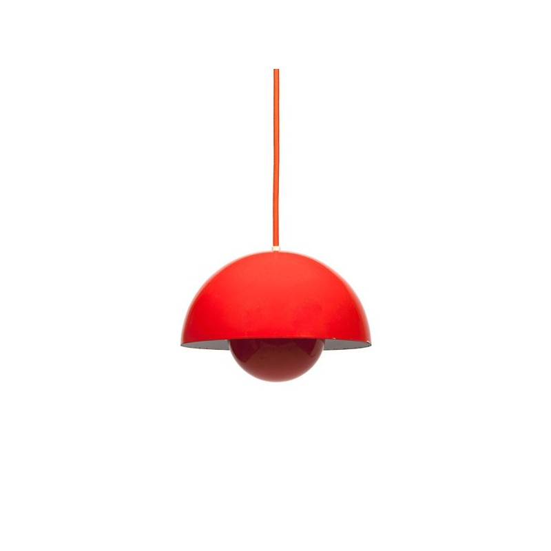 Flower pot hanglamp design Verner Panton
