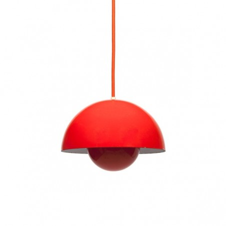 Flower Pot hanging lamp design Verner Panton