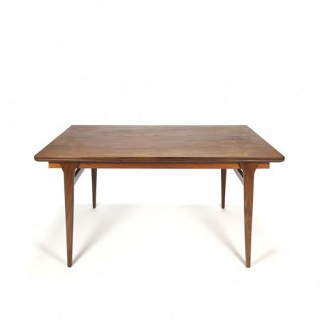 Danish dining table in teak