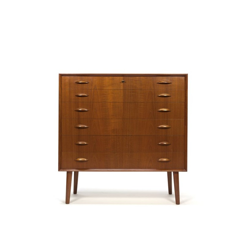 Luxury chest of drawers from Denmark in teak