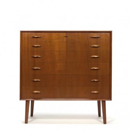 Luxury chest of drawers from Denmark in teak