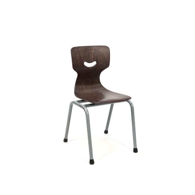 Pagholz stoeltje voor kinderen