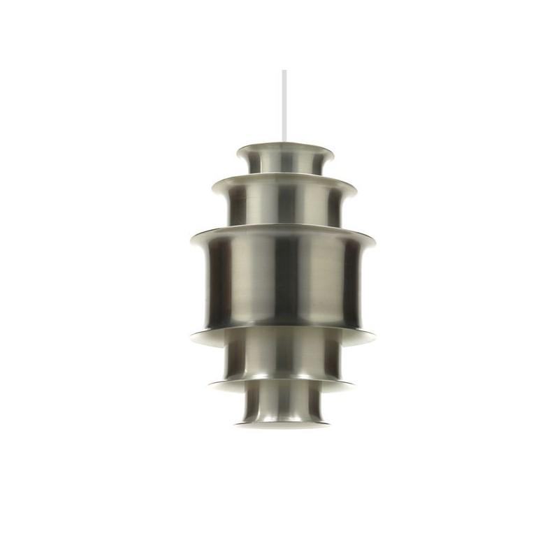 Danish aluminium hanging lamp