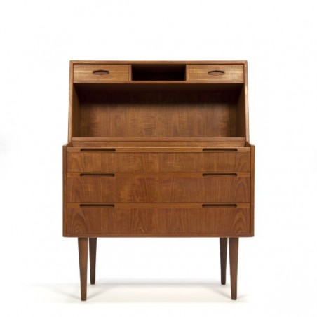 Danish design secretaire in teak 1960s