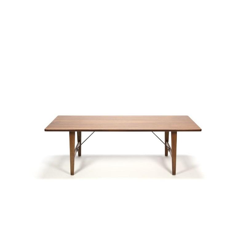 Grote teakhouten salontafel Deens design