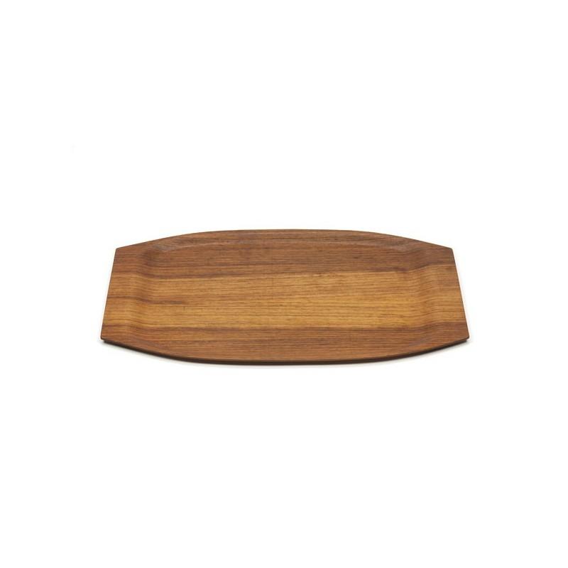 Tray in teak