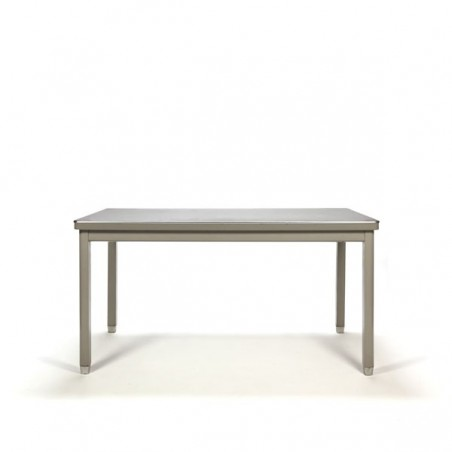 Industrial working-/ dining table with grey base