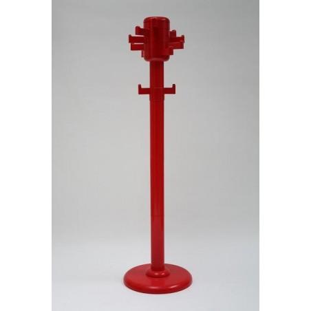 Rode plastic kapstok