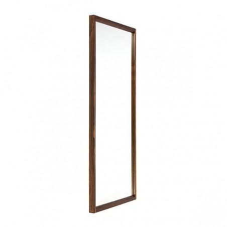 Palissander houten spiegel ontwerp van Aksel Kjersgaard
