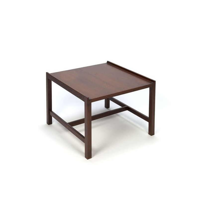 Kleine teakhouten salontafel