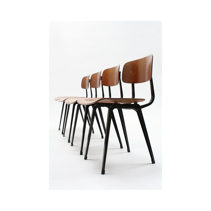 Friso Kramer Revolt chair set of 4