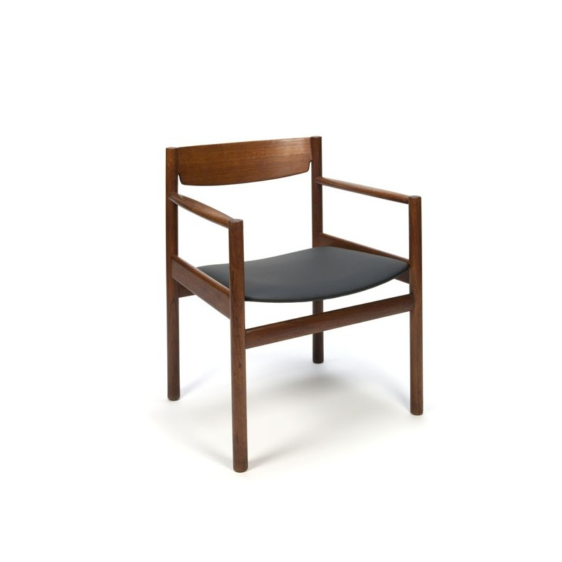 Danish design easy chair in teak