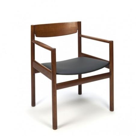 Deense design zitstoel van teak