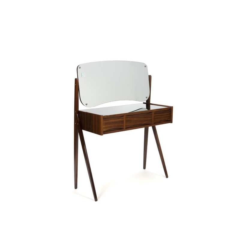 Dressing table in rosewood