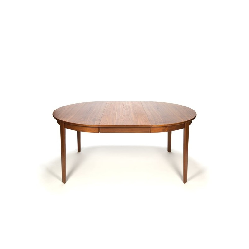 Danish teak design dining table round/ oval model